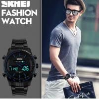 China Skmei Men Business Leisure Wristwatch Dual Movt Luminous Analog Digital LED Watch  1131 wholesale