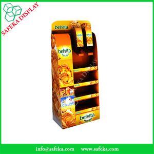Quality Creative design China Manufacturer 3 racks Paper material shelf cardboard point for sale