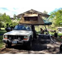 China Family Travel Off Road Roof Top Tent Tear Resistant With High Density Foam Mattress wholesale