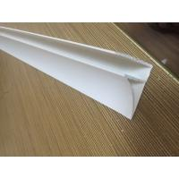 Quality 4CM Glossy Extruded Plastic Profiles Top Clip For Room Roof Garden Drainage Board for sale