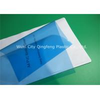 China 0.15MM 150Mic PVC Transparent Binding Covers / Clear Report Cover Sheets on sale
