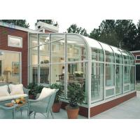 China Residential Housing Aluminium Glass Greenhouse Double Glazing Architeched Design on sale