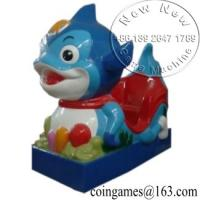 Amusement Park Coin Operated Kiddie Rides On Unicorn Toy