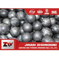 China High Wear Resistant Steel Balls For Ball Mill With Low Broken Rate wholesale