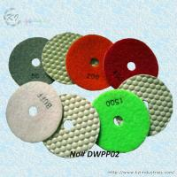 China Dry Polishing Pads for Granite and Concrete (Diamond Grits# 50 ~ Buff) wholesale