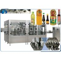 China 2 In 1 Edible Oil Filling And Capping Machine , PET Bottle Filling Machine High Speed wholesale