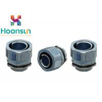 China DPJ100 Flexible Conduit Connector Metal Hose End Style Straight Joint Connector IP65 wholesale