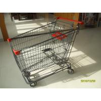 27.21kg Weight Metal Shopping Trolley E - Coating With Colored Powder Coating