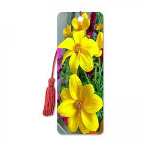 China Flower Design Souvenir 3D Lenticular Bookmark / 3D Lenticular Printing wholesale