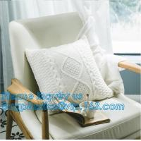 China White and Silver Double Sides Colors Sublimation Cushion Cover Blanks Sequin Throw Cushion Cover Grey Cushion Cover on sale
