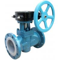 China Soft Sealing Gas Lubricated  Plug Valve PN160 , Electric Or Pneumatic Plug Valve wholesale