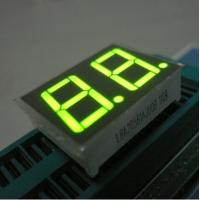 Quality Green Two Digit Seven Segment Display Common Anode For Intrument Panel for sale