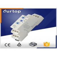 China SPDT ( 1NO + 1NC ) Multifunction Timer Relay 5% Mechanical Setting 5A Rated  Current A wholesale