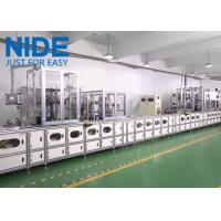 China Automatic three phase electirc motor winding stator production line machine with remotor control wholesale