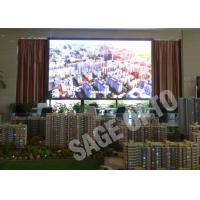 China Indoor LED Advertising Billboard High Defination Super Slim Large LED Screen wholesale