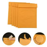 Buy cheap #000 4x8 Secure self-seal Golden Yellow Kraft Bubble Padded Mailers for shipping from wholesalers