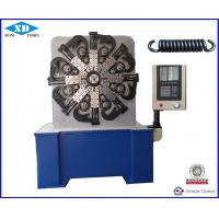 China Computerized CNC Spring Forming Machine With Production Rate Displayed On The  Screen wholesale