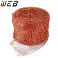 China Knitted copper mesh rolls wholesale