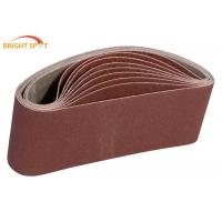 China Water Resistant Abrasive Sanding Belts Lightweight For Shipping Industry wholesale