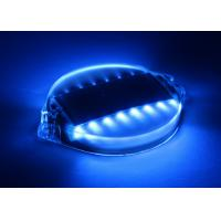 China Super bright LED Solar Barricade Lights , Traffic Barricades Decorative Garden Lights wholesale