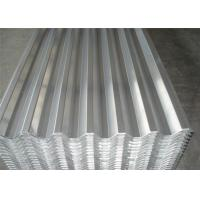 China Longer Life Flat Surface Aluminum Roofing Sheet For Building 1050 1060 1100 V125 wholesale