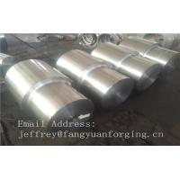 Quality Rough Machining Carbon Steel Forged Sleeves Hot Rolled Cylinder Max Length for sale