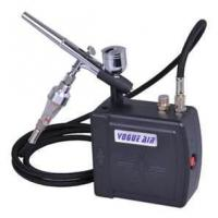 China AC100~240V 0.6A 7cc Professional Airbrush Makeup tattoo Kit - with dual action airbr wholesale
