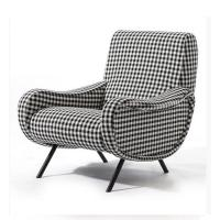 China Classic Retro Modern Upholstered Sofa Living Room Fabric Armchair HY-C357 wholesale
