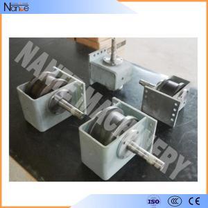 China Heavy Industrial Alloy Steel Hoist End Beam / Crane Wheel / Crane Forging Wheels wholesale