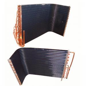 China 17x25 air conditioner condenser coil copper tube aluminium fin wholesale