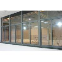 China Office Dark Grey Single Glass Slider Window  / Horizontal Interior Sliding Window wholesale