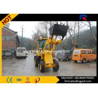 China 42KW Diesel Micro Wheel Loader , Building Construction Equipment Oil Braking System wholesale