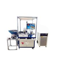 China Cork Stoppers Automatic Laser Marking Machine / Laser Engraving Machine wholesale