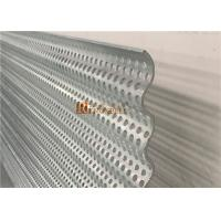 China Curved Decorative Aluminum Sheet with Punched Holes Perforation for Facade wholesale