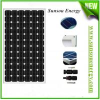 China High efficieny mono-crystalline silicon solar panel 300w past EL testing with MC4 connector for solar panel system on sale