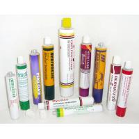 China 1C - 6C Printing Collapsible Aluminum Tubes With 3g - 400g Capacity , Fully Label wholesale