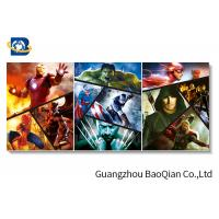 China Spider-Man Movie Star 3d Poster For Decorative Picture , Creative Pet Dog 3d Photo wholesale