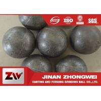 China 55-65HRC Hardness forged steel grinding ball , ball milling media wholesale