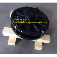 China Undercarriage Replacement Part Guide Idler Wheel Roller for Nissha DHP80 Pile Driving Machinery wholesale