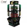 Buy cheap Factory Price Car Accessories Metal Engine Oil Showroom Display Racks from wholesalers