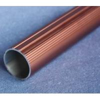 China Round T6061 Anodized Aluminum Tube , Powder Spray Coated Brushed Aluminum Tubing wholesale