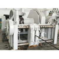China Stationary Spooling Device Winch , Vertical Lifting Machinery Windlass Anchor Winch wholesale