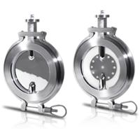 stainless steel hygienic butterfly valve