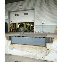 Quality Grey Green Hydraulic Mechanical Loading Dock Ramps / Leveler CE ISO9001 for sale