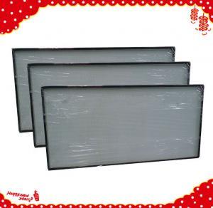 China 915x610x69mm laminar air flow h13 h14 mini pleat hepa air purifier / hepa filters wholesale
