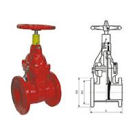 China Special fire signal resilient seated gate butterfly valve pressure 1.0 - 2.5MPa wholesale