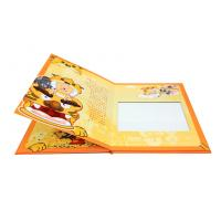 China Professional Custom Photo Book Printing With Die-cut Window / Hot-Stamp on sale