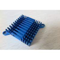 Quality Blue Air Cooling Aluminium Heat Sink Profiles / Casting And Forging Heat Sink for sale