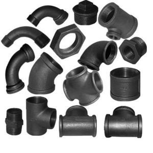 China black malleable iron pipe fittings,galvanized fittings,elbow,socket,nipple,tee,cross,cap,plug wholesale