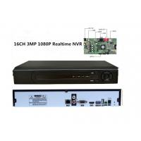 China Realtime Recording 16 Channel Nvr Security System H.264 High Profile Decode wholesale